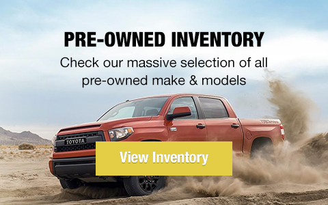 Pre-owned vehicles. Check our massive selection of all pre-owned makes & models