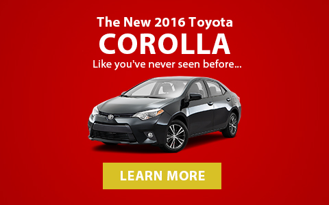 All-new 2016 Toyota Corolla