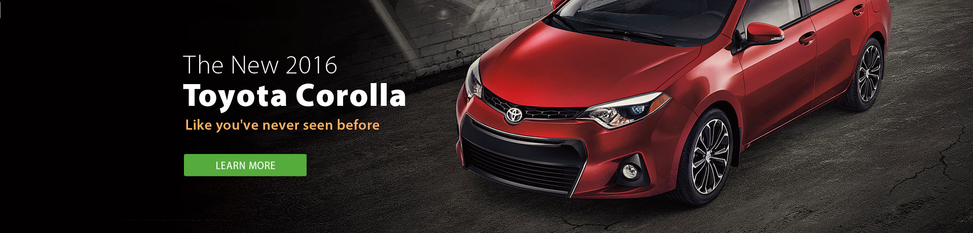 2016 Toyota Corolla - Learn more